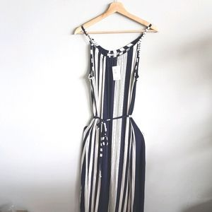 NWT Ricki's Maxi Dress Spaghetti Strap Belt Size M